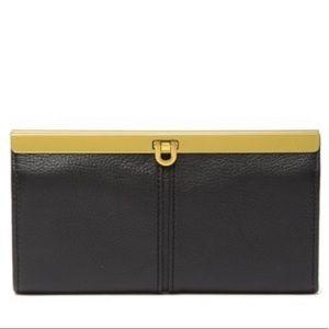 🆕Fossil Kayla Leather Clutch
